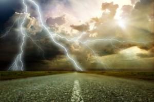 lightning-road